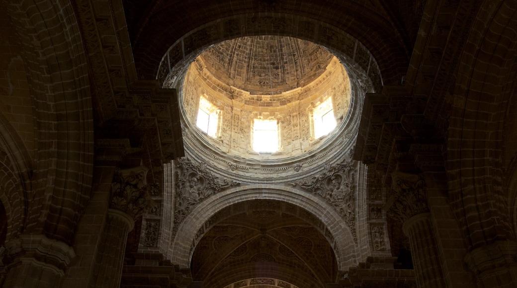 Cathédrale de Jerez mettant en vedette patrimoine historique et vues intérieures