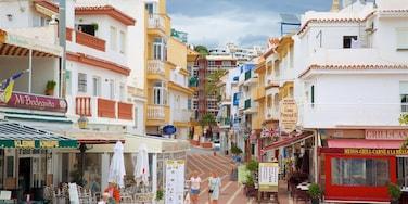 La Carihuela mettant en vedette scènes de rue