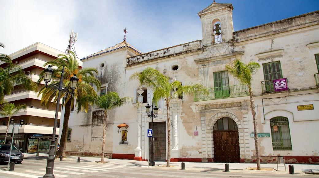 El Puerto de Santa Maria showing heritage architecture