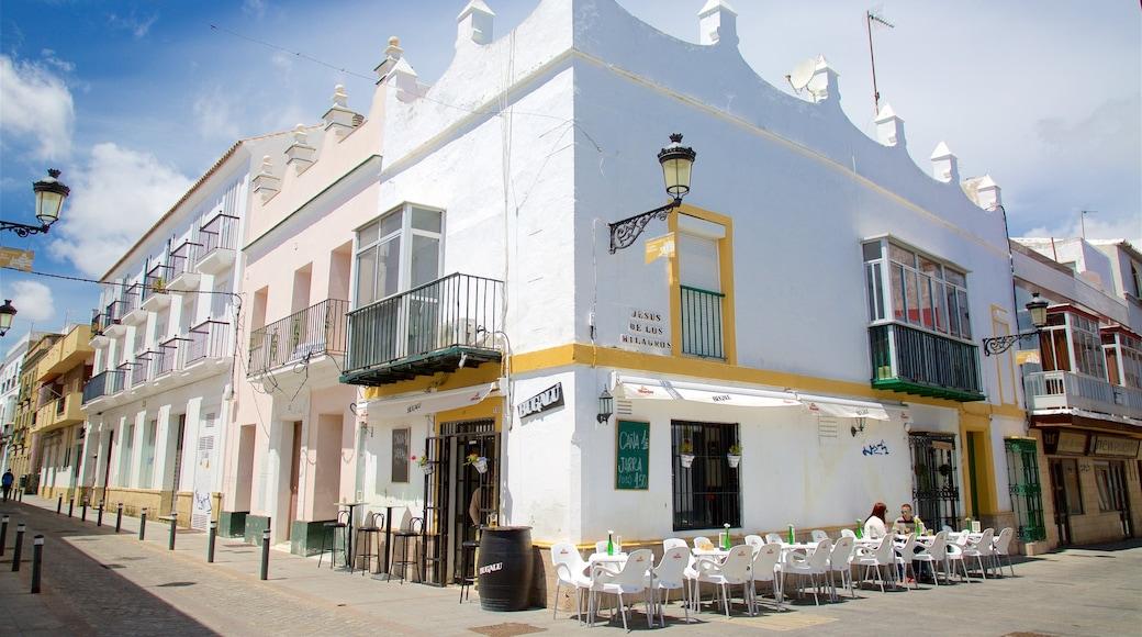 El Puerto de Santa Maria showing street scenes