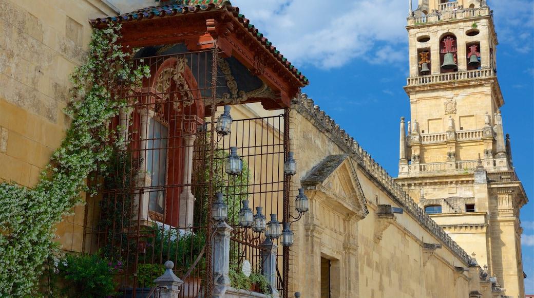 Mezquita de Córdoba que incluye un pueblo