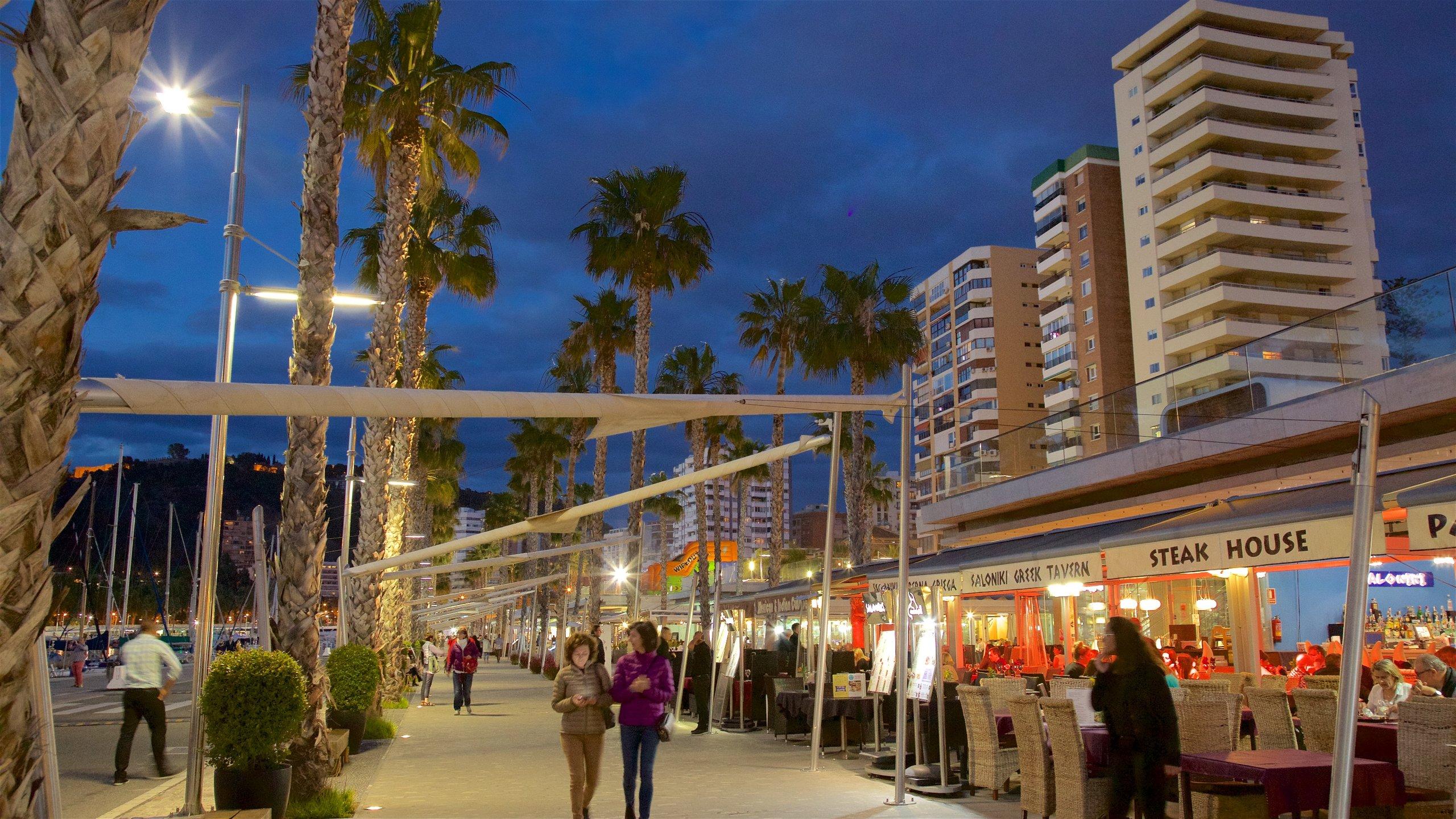 Um dos portos de cruzeiros mais populares da Espanha é um excelente lugar para conhecer a atmosfera e a história da animada e acolhedora Málaga.