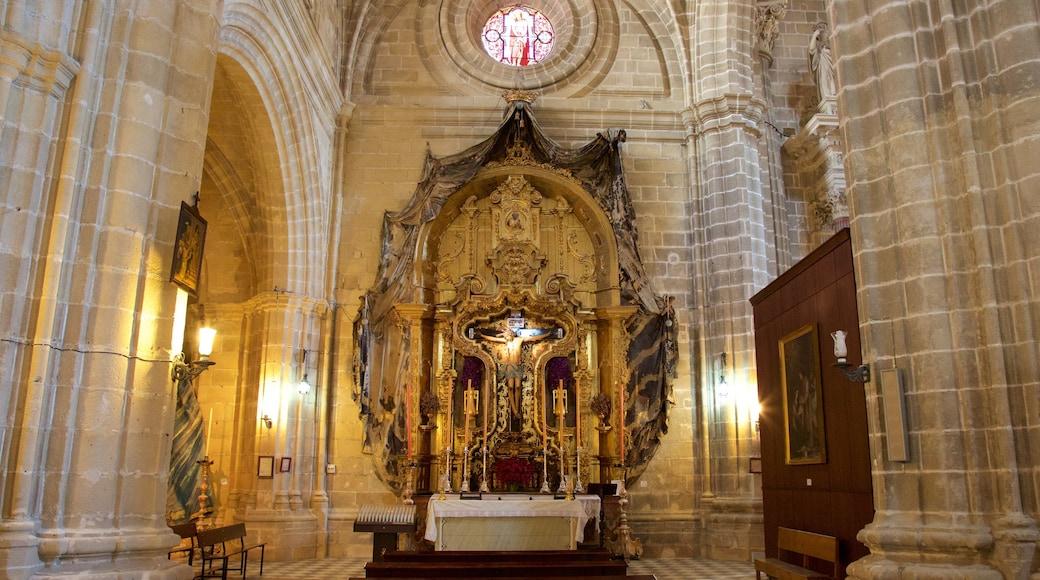 Kathedrale von Jerez mit einem Innenansichten, religiöse Aspekte und Kirche oder Kathedrale