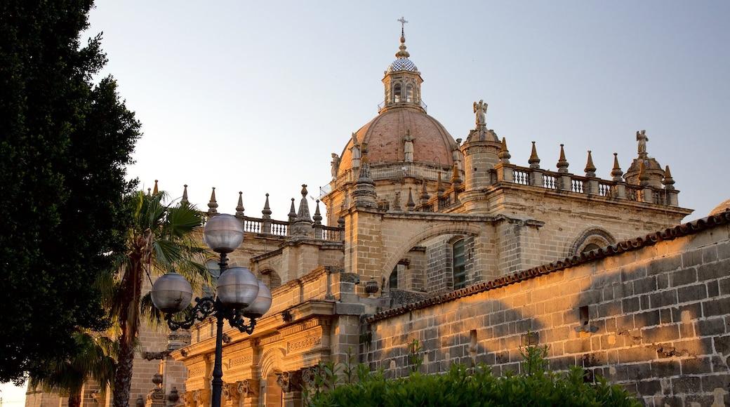 Kathedrale von Jerez das einen Kirche oder Kathedrale