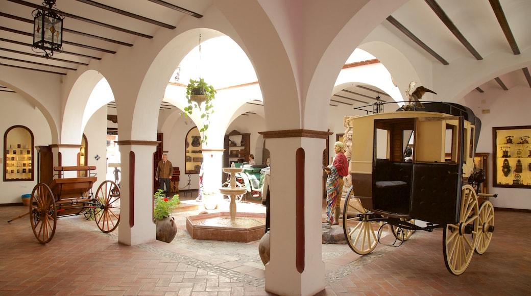 Museo Lara which includes interior views