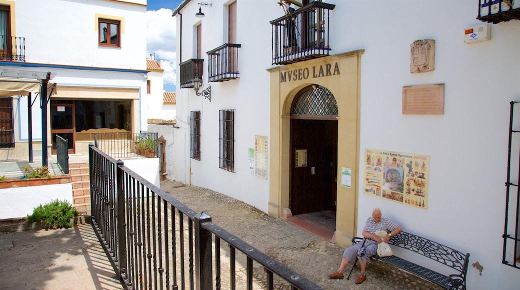 Museo Lara featuring street scenes
