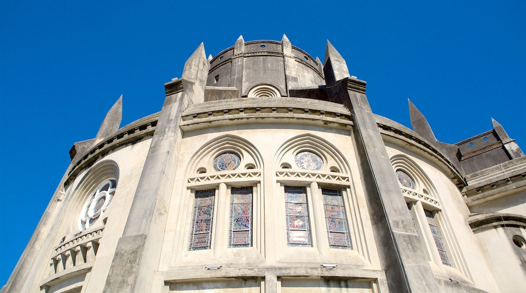 Metropolitan Cathedral of Fortaleza showing a church or cathedral