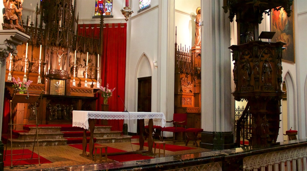 North Holland which includes a church or cathedral, religious aspects and interior views