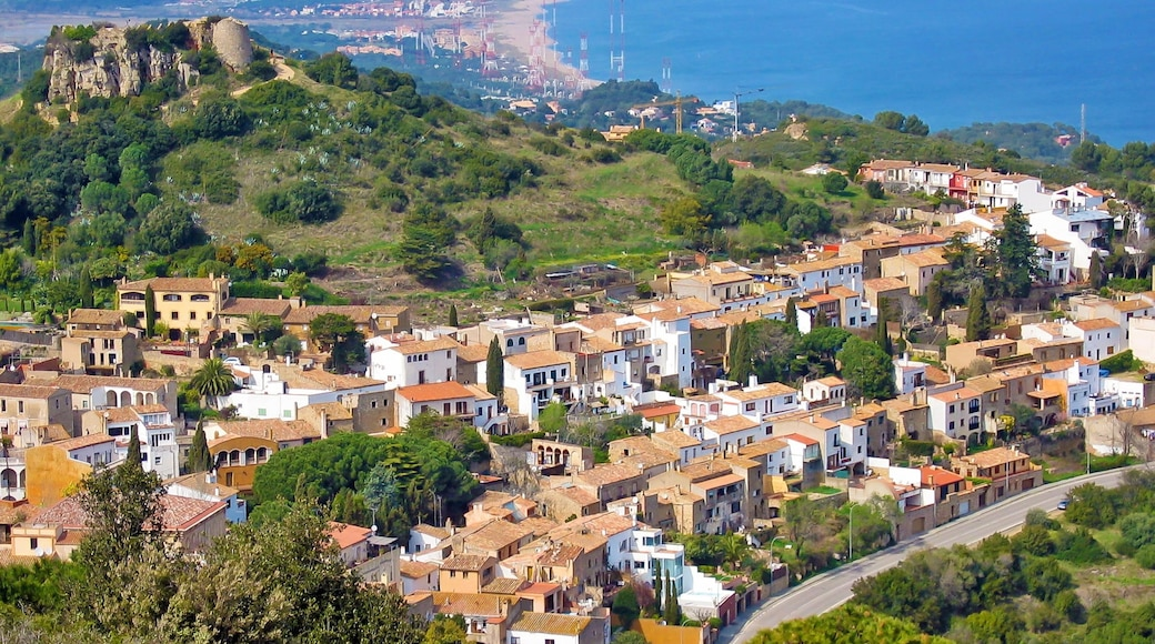Girona presenterar en liten stad eller by