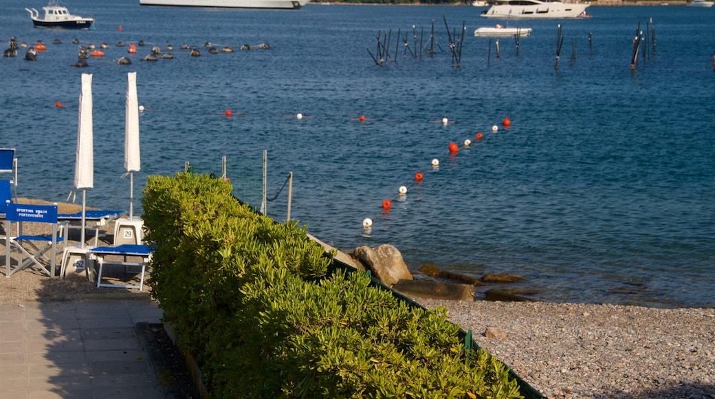 Porto Venere che include baia e porto