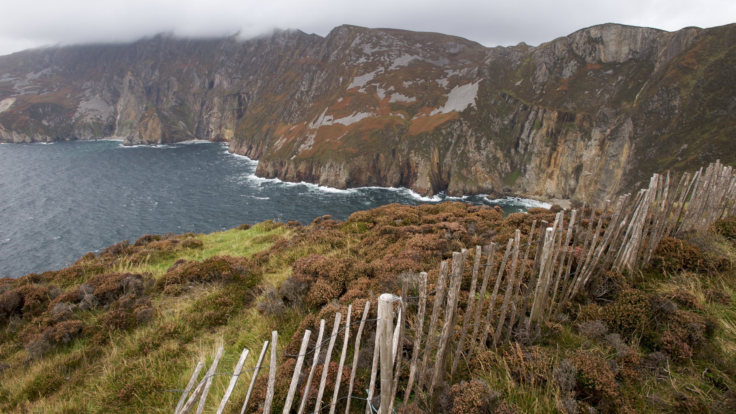 Slieve League, Carrick, Donegal Provinz, Irland