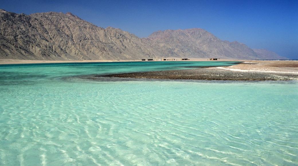 Egito mostrando uma baía ou porto e cenas tranquilas