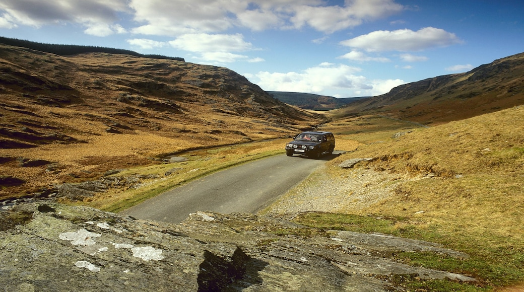 Powys featuring tranquil scenes, desert views and 4-wheel driving