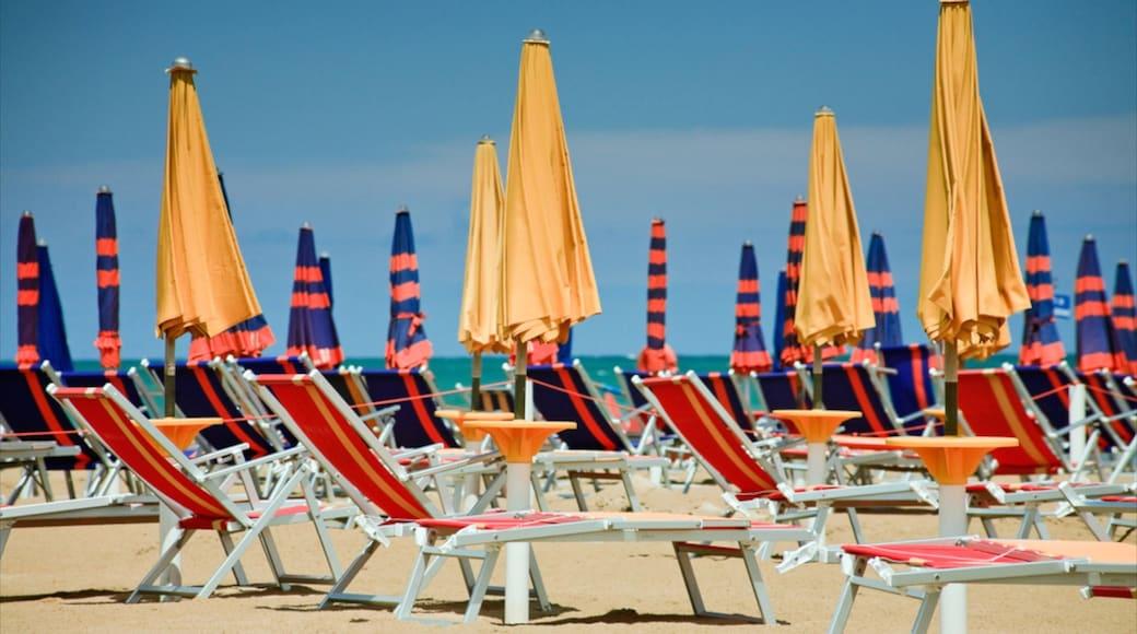 Alba Adriatica featuring a beach and a luxury hotel or resort