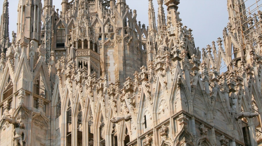 Cathedral of Milan which includes heritage architecture and a church or cathedral