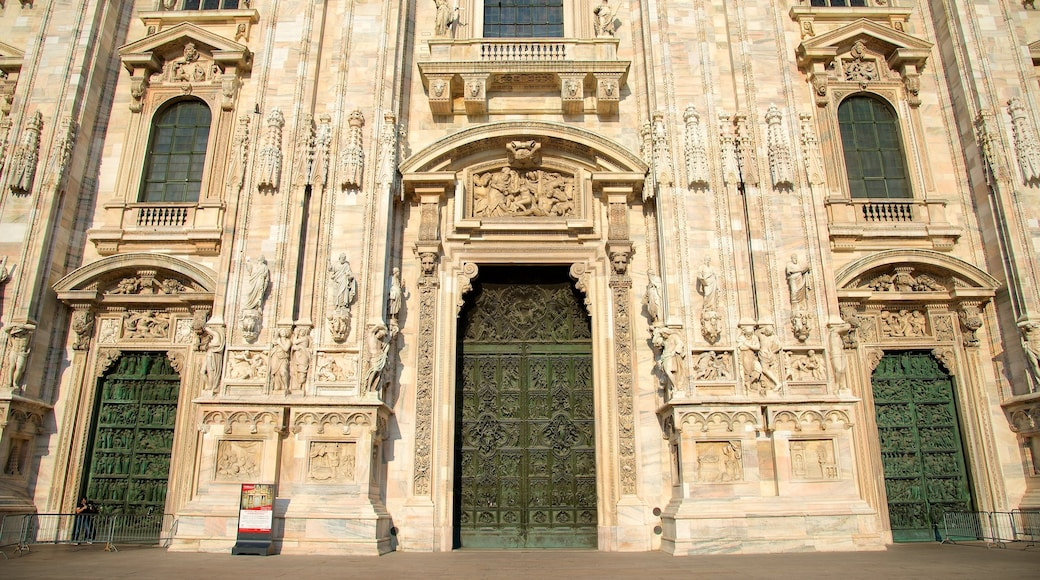 Cathedral of Milan featuring heritage architecture and a church or cathedral