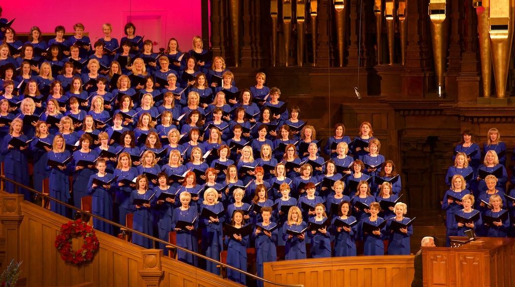 Pohjois-Utah - Salt Lake City featuring sisäkuvat ja musiikki sekä suuri ryhmä ihmisiä
