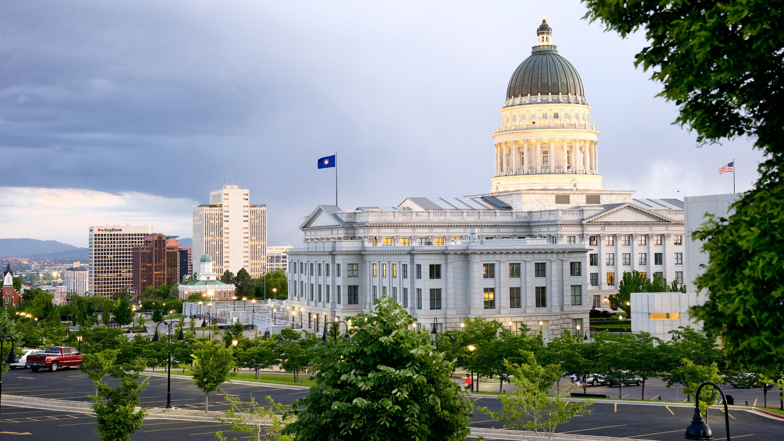 Downtown Salt Lake City, Salt Lake City, Utah, United States of America