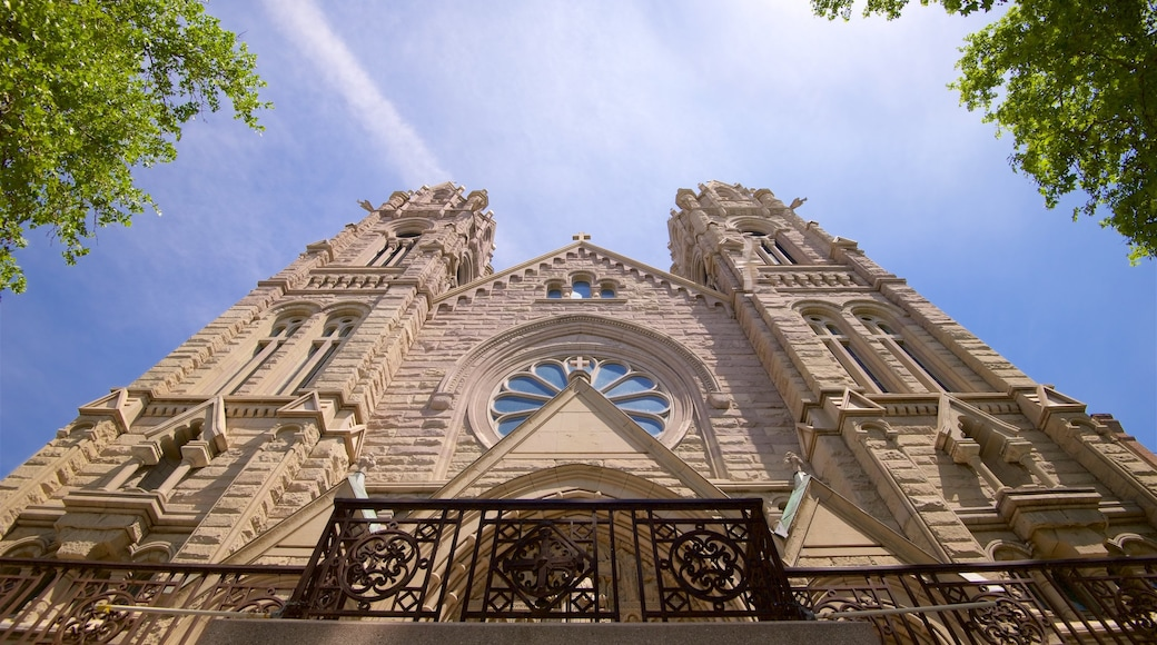 Cathedral of the Madeleine featuring heritage architecture and a church or cathedral