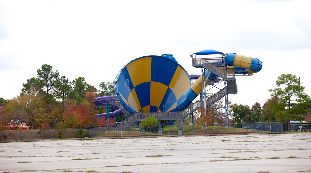 Splashtown which includes a waterpark