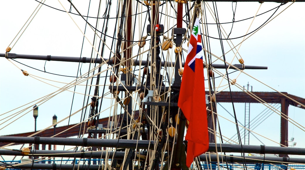 Boston Tea Party Ships & Museum featuring boating