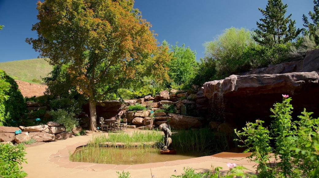 Red Butte Garden and Arboreteum featuring a garden