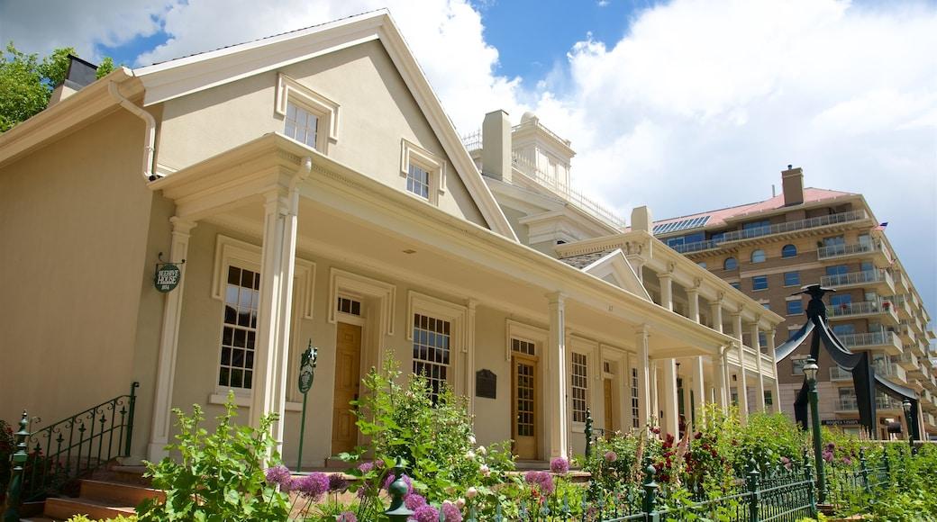 Beehive House welches beinhaltet Haus und historische Architektur