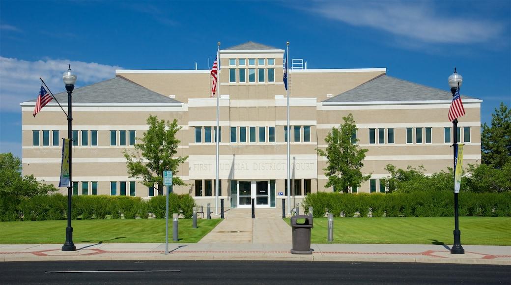 Brigham City welches beinhaltet moderne Architektur