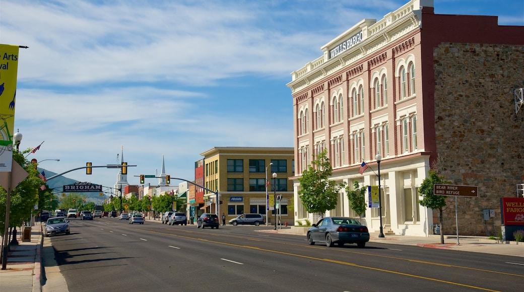 Brigham City mit einem historische Architektur