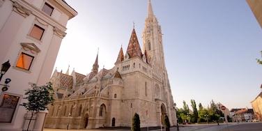 Budapest das einen Kirche oder Kathedrale und historische Architektur