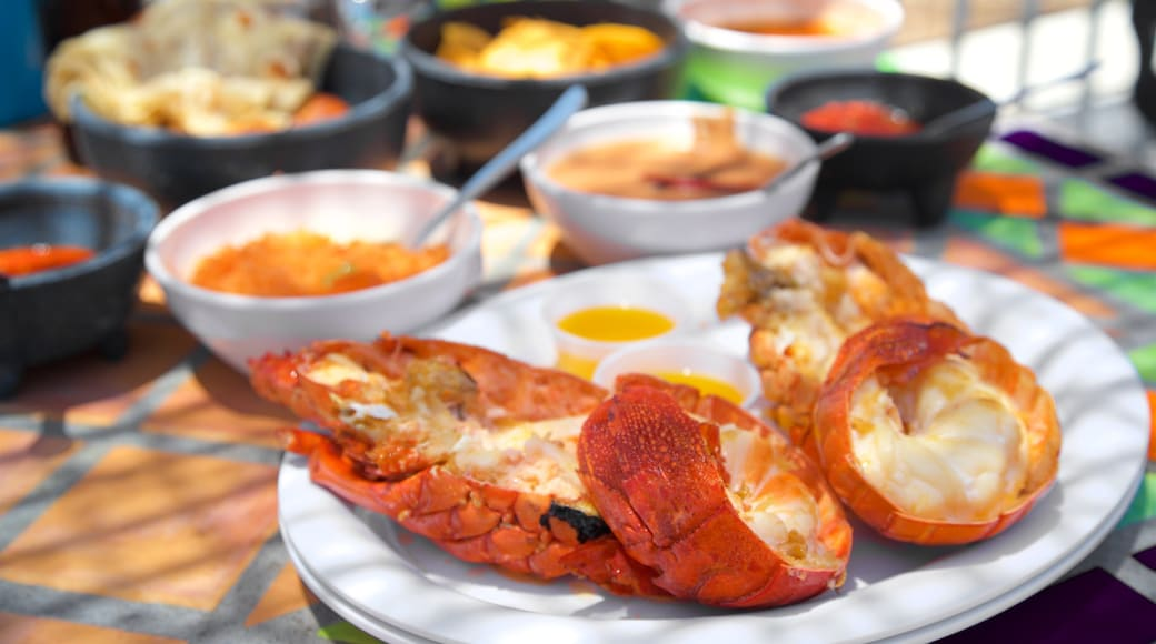 Puerto Nuevo que incluye comida