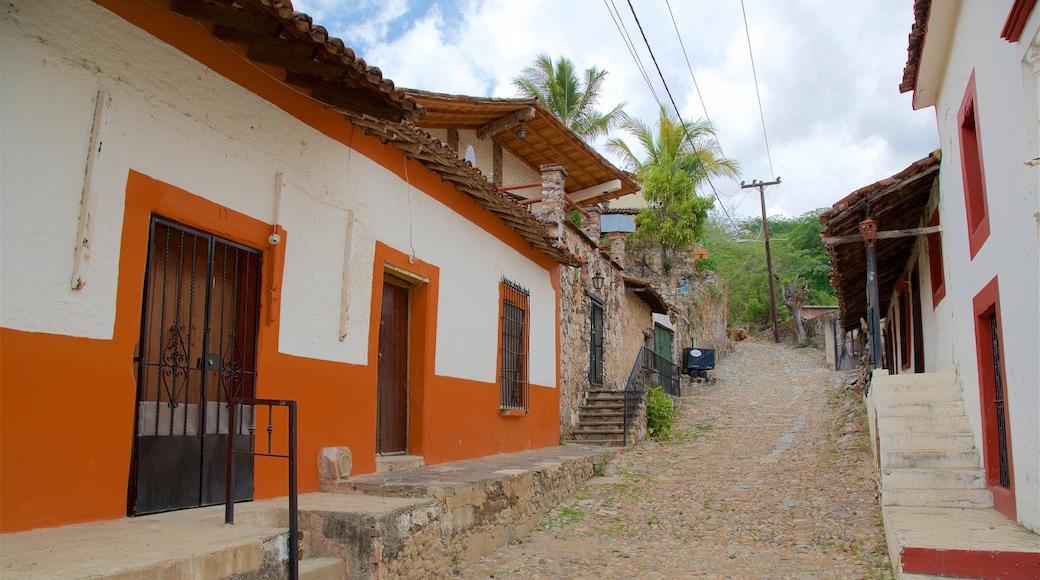 Copala ofreciendo una pequeña ciudad o pueblo