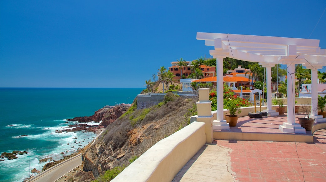 Northern Mexico which includes general coastal views and a coastal town