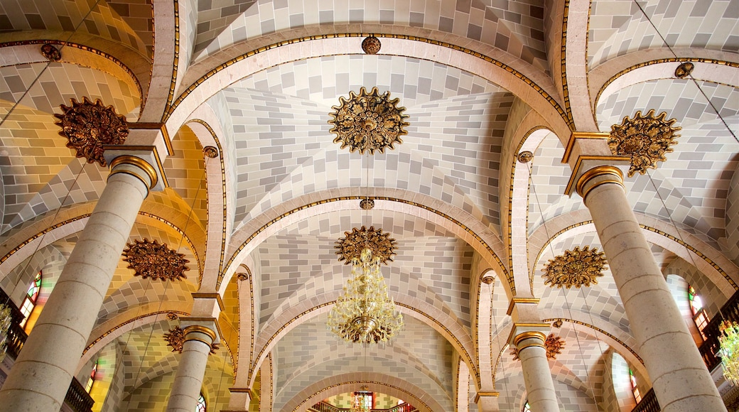 Immaculate Conception Cathedral showing interior views and heritage architecture