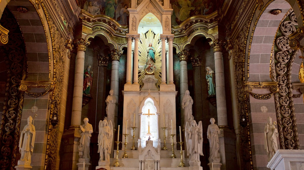 Northern Mexico featuring interior views, heritage elements and a church or cathedral