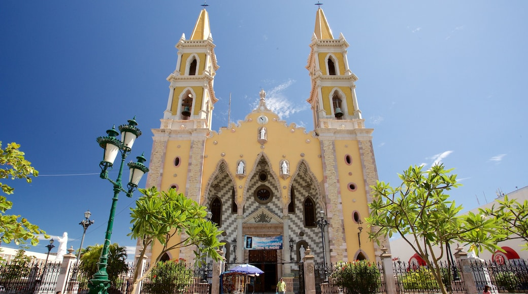 Immaculate Conception Cathedral featuring heritage architecture and a church or cathedral