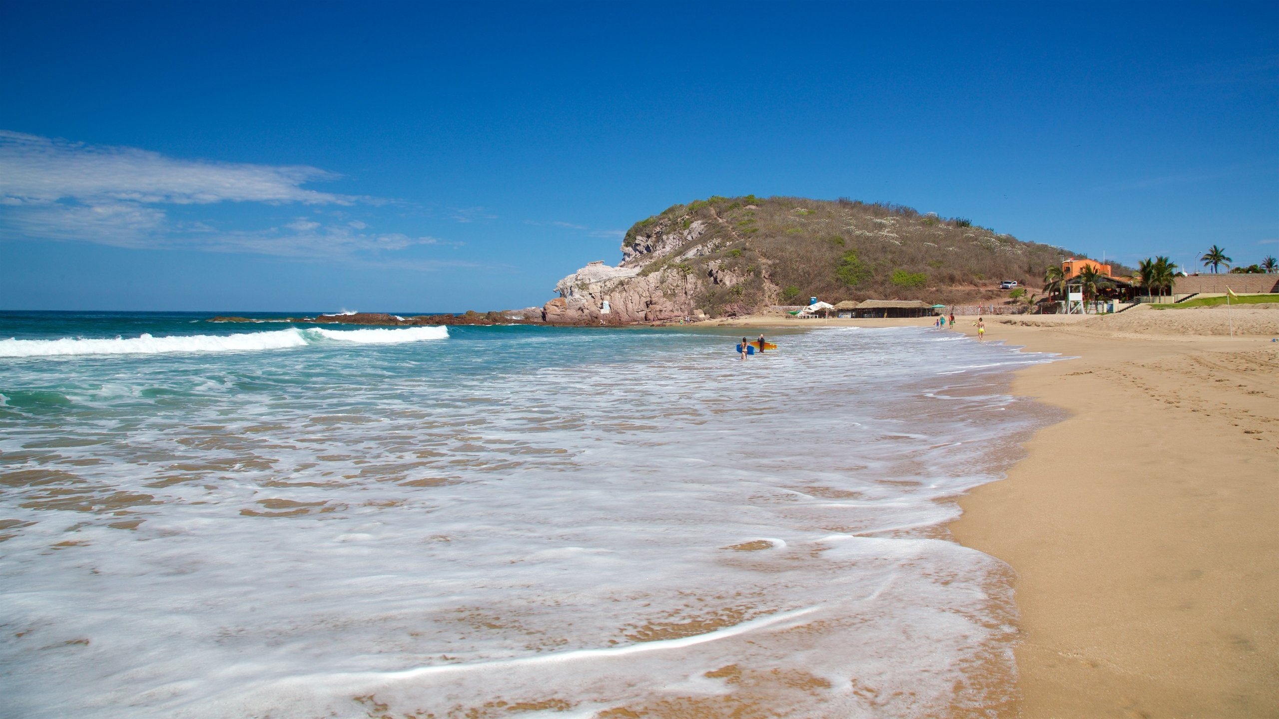 Witches Beach, Mazatlan, Sinaloa, Mexico