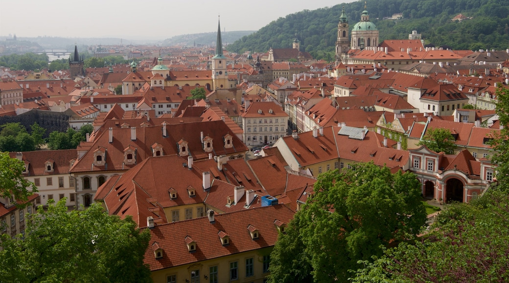 Mala Strana featuring landscape views and a city