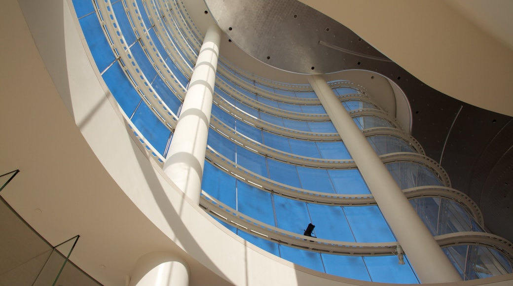 Segerstrom Center for the Arts featuring interior views, modern architecture and art