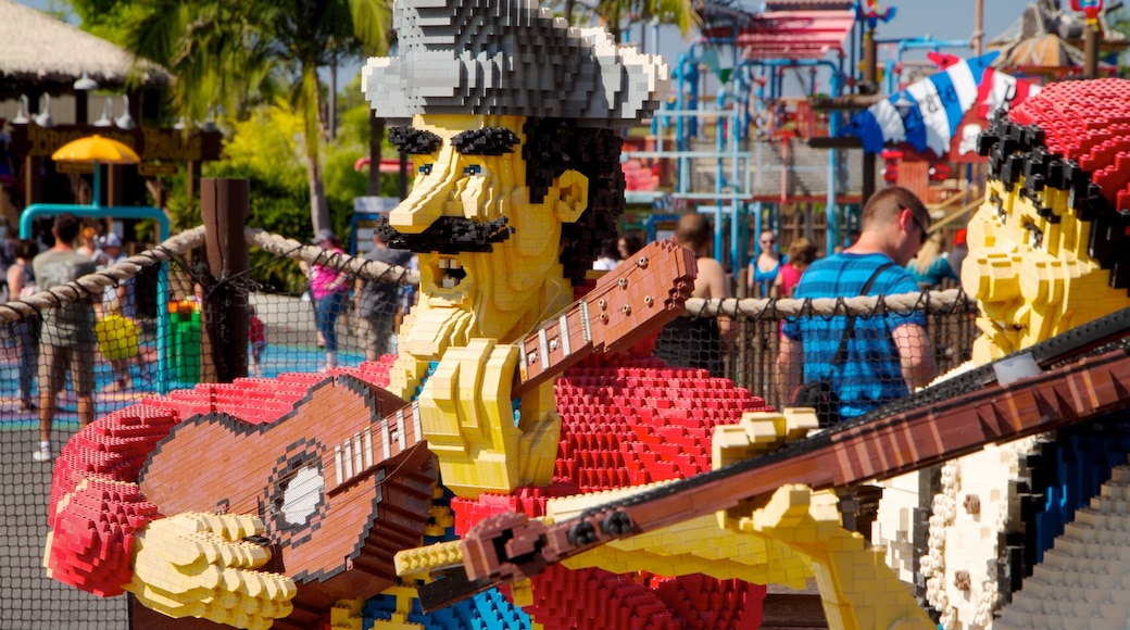Legoland California which includes rides