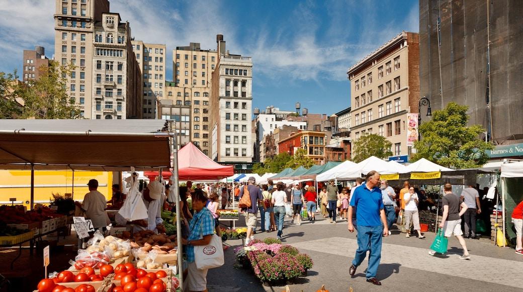 聯合廣場 设有 街道景色, 市場 和 食物