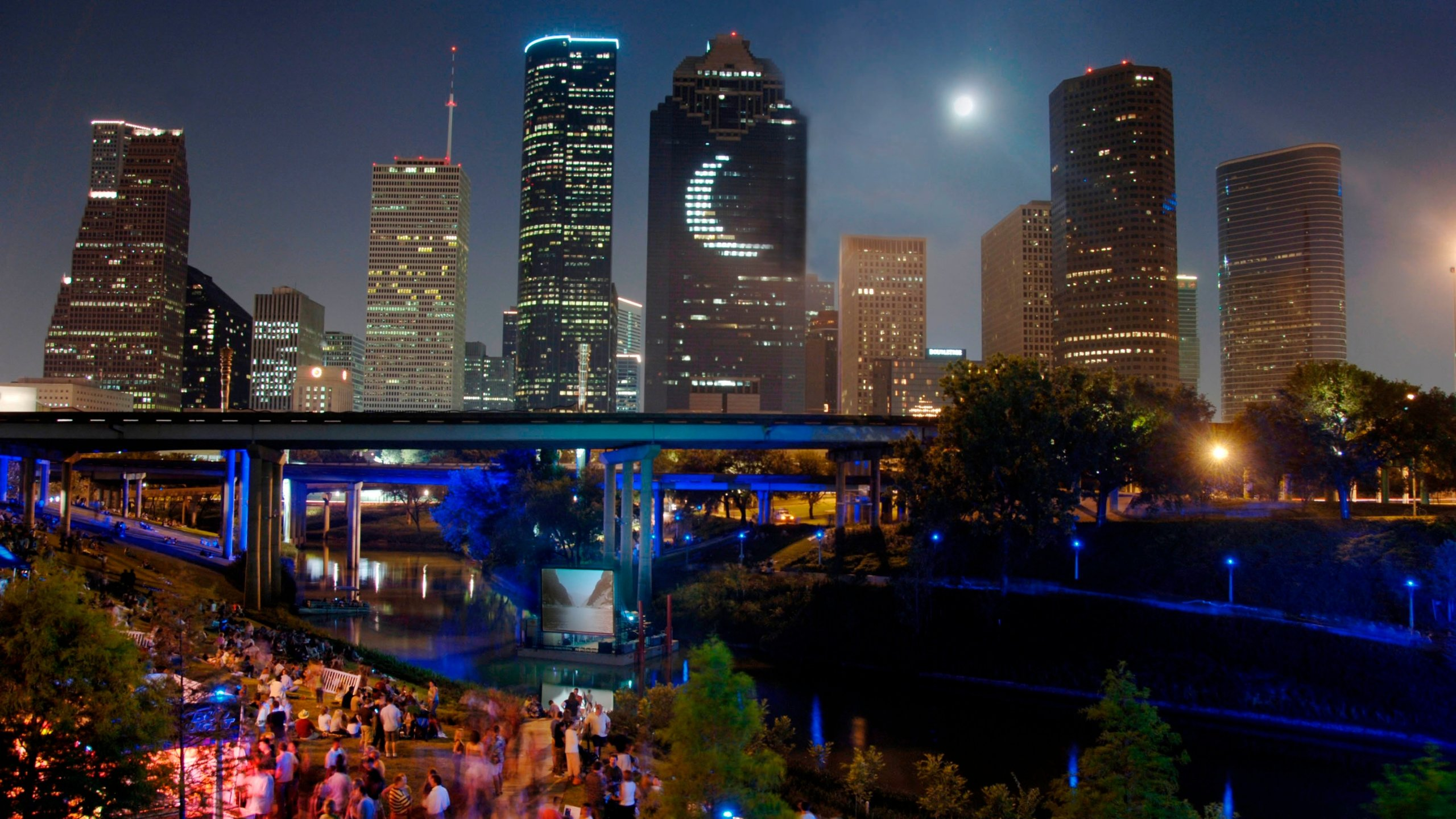 Houston Central Business District, Houston, Texas, United States of America