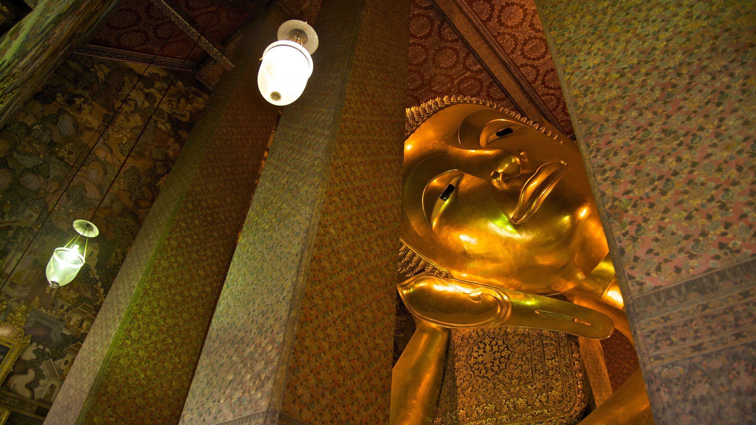 Reclining Buddha, Bangkok, Bangkok Province, Thailand