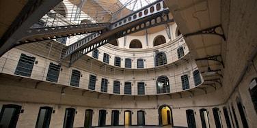 Kilmainham Gaol Historical Museum presenterar interiörer