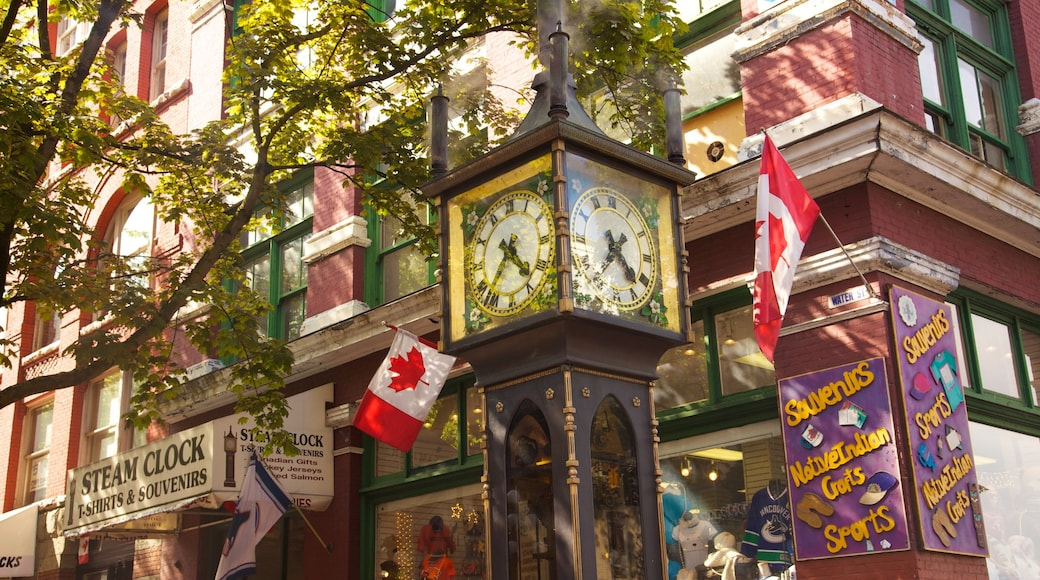 Gastown showing a city