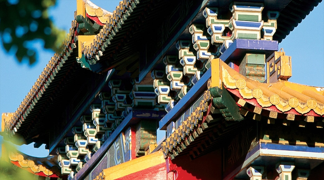 Chinatown showing heritage architecture