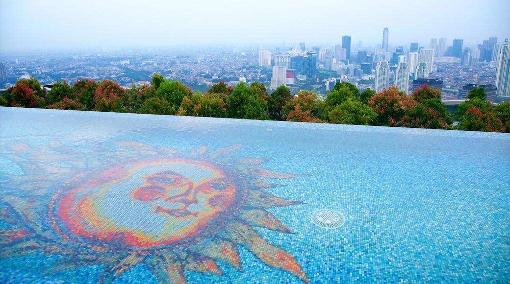 雅加達 其中包括 游泳池 和 城市