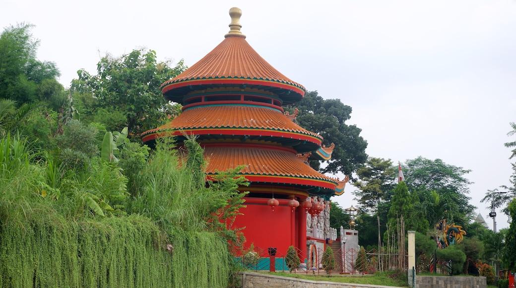Taman Mini Indonesia Indah featuring heritage architecture