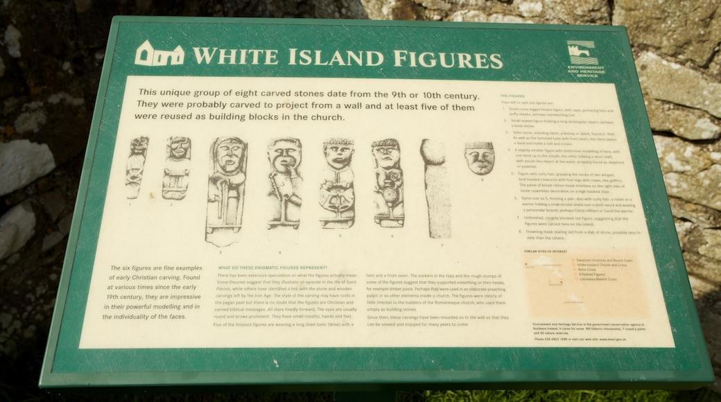 Enniskillen featuring signage