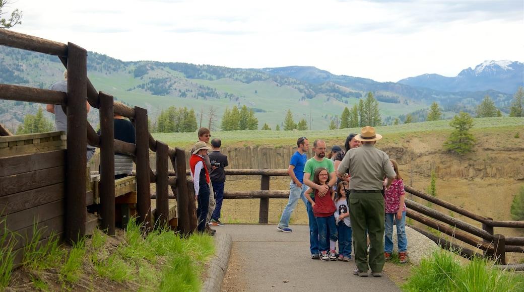 懷俄明西北部 设有 寧靜風景 以及 一小群人